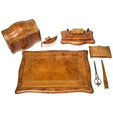36 best 19 leather desk sets images on pinterest desk set desk