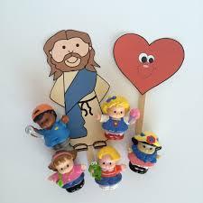 faith sprouts jesus blesses little children