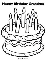 happy birthday card printable coloring pages gallery free