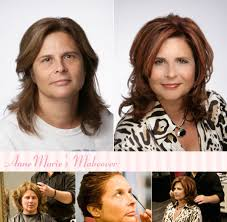 hairstyle makeovers before and after blush hair salon make up studio