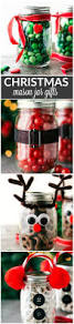 Decorated Jars For Christmas The 25 Best Christmas Mason Jars Ideas On Pinterest Tiffany