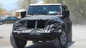 jeep truck 2018 spy photos 2018 jeep wrangler u2013 spy phots emerged automotorblog