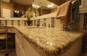 giallo ornamental granite designer bathroom
