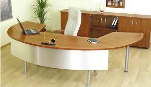 Wood Office Desk Curved Office Desks Curved Office Desk Decorations Amazing