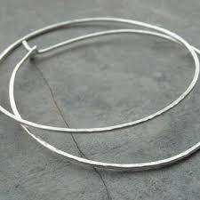 large silver hoop earrings buy large hoop earrings 45mm silver hoop earrings handmade