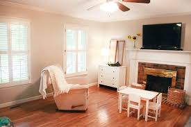 Family Room Vs Living Room by Farmhouse Inspired Family Room Makeover The Paint Curtains At