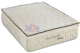 foam for bed crown pillowtop memory foam mattress from the bed boss