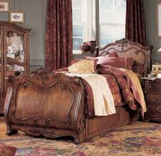 Antique Sleigh Bed Lea Mcclintock Heirloom Sleigh Bed Furniture 228 9x6r At