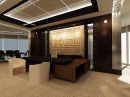 amazing design ideas of home office interior with unique black