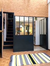 chambre enfilade séparation de deux chambres en enfilade dans un atelier d artiste