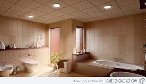bathroom lighting ideas ceiling 15 dazzling bathroom lighting ideas home design lover