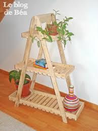 fabrication de coffre en bois pas à pas pour fabriquer une étagère style escabeau en bois de