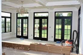 Interior French Doors With Transom - i can u0027t decide if i like interior doors painted black but it