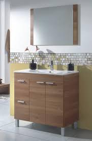 Bathroom Furniture Walnut by Bathroom Furniture 80 Walnut Aktiva Modern Style Kit Measures 800x450
