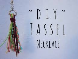 tassel necklace make images Diy tassel necklace jpg