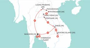Laos World Map by Highlights Of Laos Laos Discovery Tour Wendy Wu Tours
