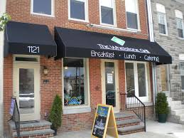 business awnings and canopies small business awnings a hoffman