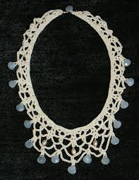lace necklace patterns images File chalcedony crochet necklace jpg wikimedia commons jpg