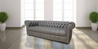grey chesterfield sofa grey chesterfield 3 seater sofa settee designersofas4u
