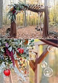 wedding arches michigan michigan fall favorites wedding inspiration wedding arbors