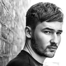goodlooking men with cropped hair french crop haircut