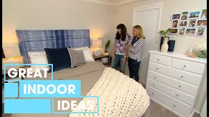 hampton coastal bedroom makeover indoor great home ideas youtube