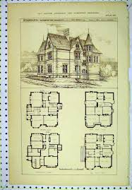 victorian house floor plans and designs