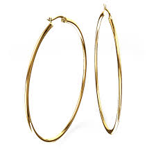 gold hoops earrings mm diameter hoop earrings in 14k yellow gold
