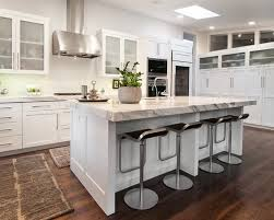 nice designing a kitchen island with seating u2014 railing stairs and