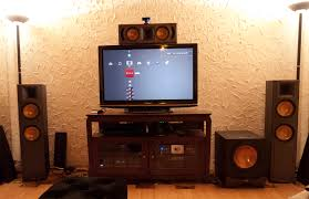 klipsch reference home theater system allstar780 u0027s home theater gallery my updated 5 1 ht system 15