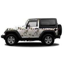 jeep decal with bow realtree camo accent jeep vehicle wrap free shipping