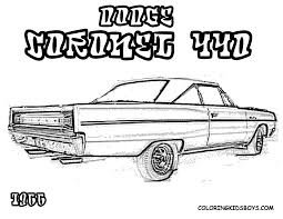 muscle coloring pages chevy coloring pages
