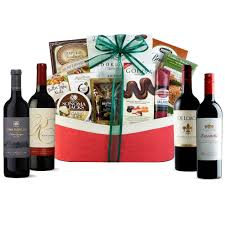 gift baskets with wine executive selection cabernet quartet wine gift basket wine