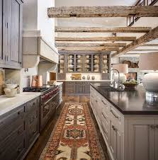 Pleasant Design Ideas Rustic Modern Kitchen Brilliant Rustic - Rustic modern kitchen cabinets