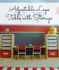 Play Table With Storage by That Mommy Blog April 2013