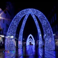 wedding arches with lights led arch lights wedding christmas decorations colordecorations