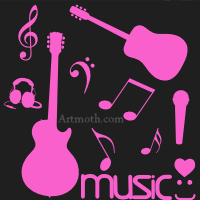 girly guitar wallpaper 49 pink guitar background