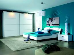 bedroom cute bedroom blue color wall green accentkids paint