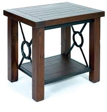 round wood and metal end table wood and metal end table westmontcatering com