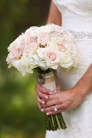 white hydrangea bouquet pink spray and white hydrangea bouquet