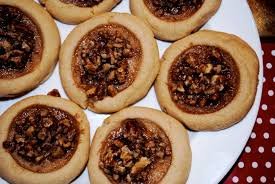 12 days of vegan christmas cookies day 8 pecan pie cookies