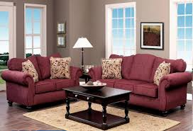 Color Schemes For Living Rooms by Furniture Luxury Living Room Sofas Design With Burgundy Couch