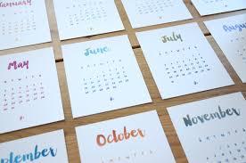 Diy Desk Calendar by How To Make A Stand Up Desk Calendar Hostgarcia