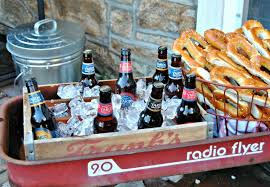 how to diy a backyard beer garden party for oktoberfest outdoor