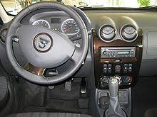 New Duster Interior Dacia Duster Wikipedia