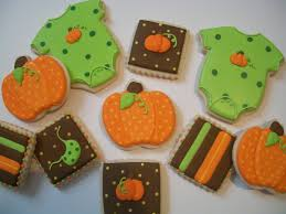 fall baby shower cookies the theme of the shower is