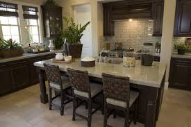 how high is a kitchen island 50 high end wood kitchens photos designing idea