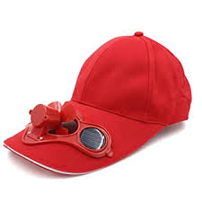 hat with fan built in amazon com cowin solar fan hat new style cooled baseball hat with