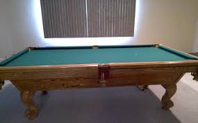 Used Billiard Tables by Brunswick Billiards Manchester 8 U0027 Solid Wood Pool Table Sold