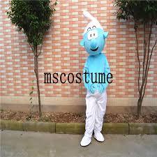 2017 adult size halloween blue wizard mascot dolls costumes dress